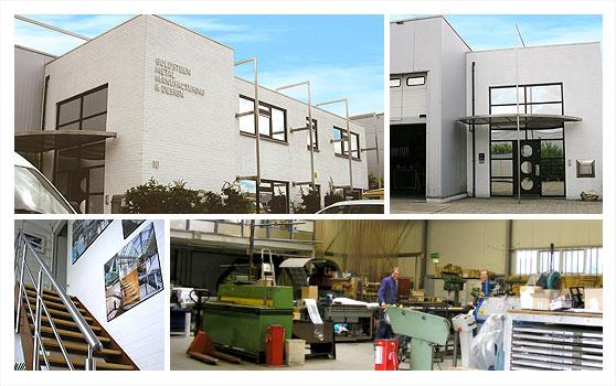 Goldsteen Metal Manufacturing & Design – nieuwbouw