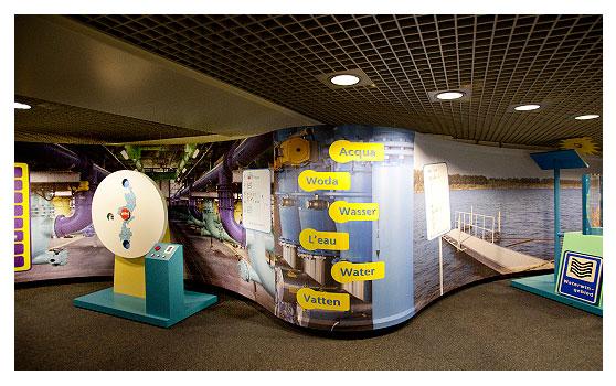 Waterleidingbedrijf Midden Limburg (WML) – tentoonstelling Bezoekerscentrum